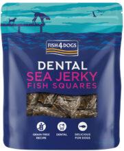 Przysmaki dentystyczne dla psa Fish4Dogs Sea Jerky Fish Squares